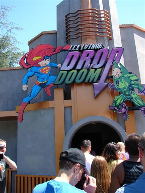 Lex Luthor Drop Of Doom Media Preview Day – The Coaster Guy