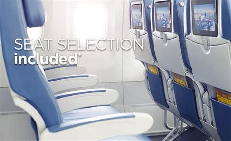 Option Plus in Economy Class, with Free Seat Selection