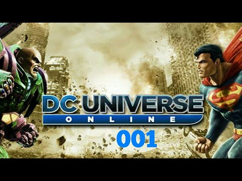 PS4 Launch Day - DC Universe Online gameplay pt1 - YouTube