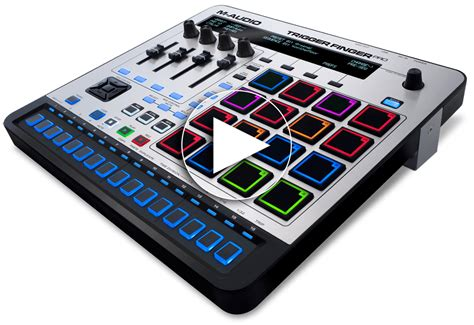 M-Audio Trigger Finger Pro USB Pad Controller with Step