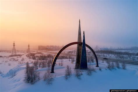 Salekhard – the view from above · Russia Travel Blog