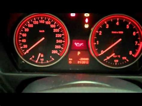 How to re-set oil service light on 08 BMW 328i