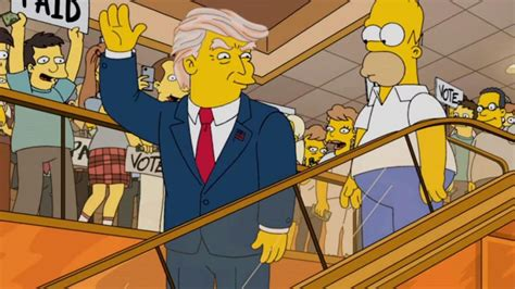 The Simpsons' Trump predictions busted | Newshub