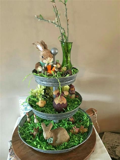 Eggcelent Easter Tiered Tray Ideas And Tips For Styling Yours