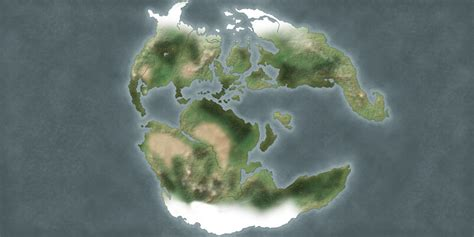 [Outer World] Mystara Faded Map - The Piazza
