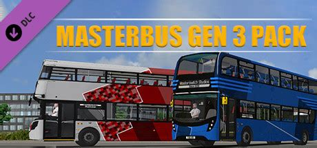 OMSI 2 Add On Masterbus Gen 3 Pack Free Download PC Game
