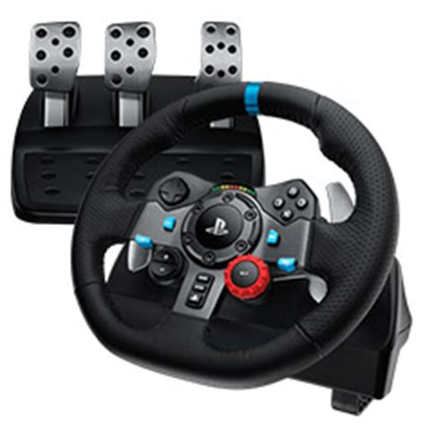 Logitech G29 Driving Force Racing Wheel for PC & PS4 [941