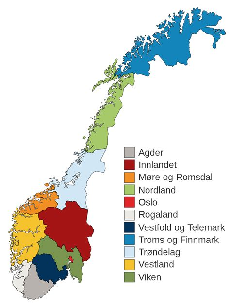 Counties of Norway - Wikipedia