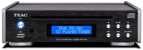 TEAC Accueil: PD-301 PD-301 Platine CD Slot-in / USB