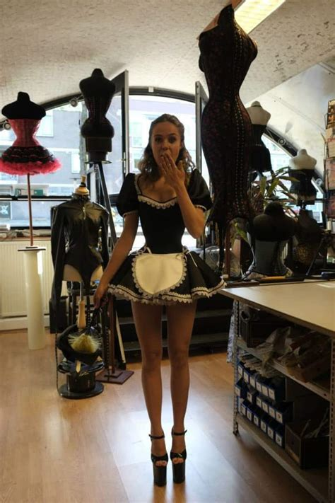 Sexy French Maid Cosplay Pictures   Thrill Blender - Part 2