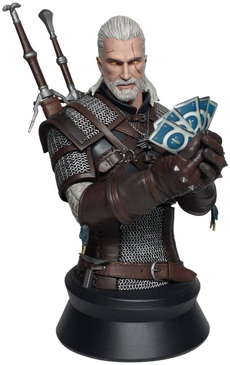The Witcher 3: Wild Hunt--Geralt Playing Gwent Bust