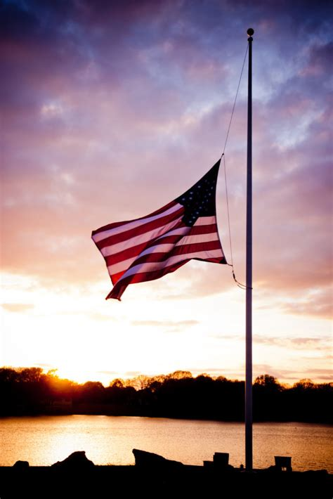 Flags to Fly at Half-Staff to Honor Fallen Police Officer