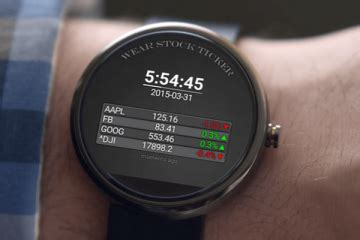 Time Sailor Animated Watchface for Android Wear - Cool
