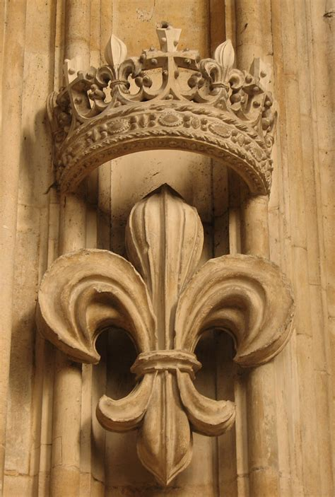 French Lily | The fleur-de-lis, identified as a lily by