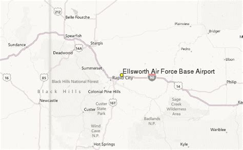 Ellsworth Air Force Base Airport Weather Station Record