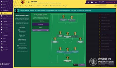 Football Manager 2019: New features, including tactics and