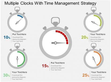 Multiple Clocks With Time Management Strategy Flat