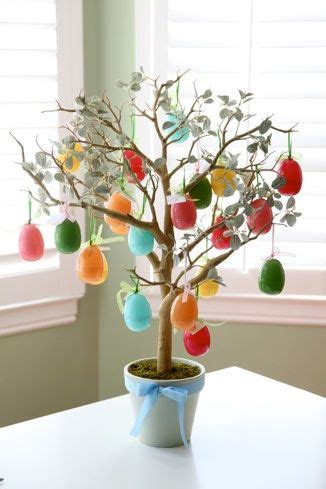 How To Make An Easter Tree : 50 Beautiful Eater Decoration