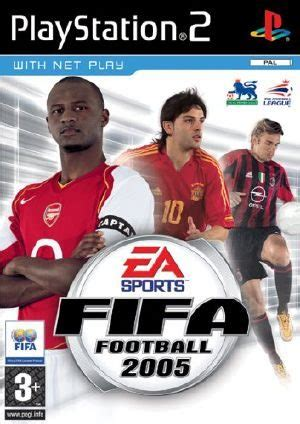 FIFA Soccer 2005 PS2 Front cover