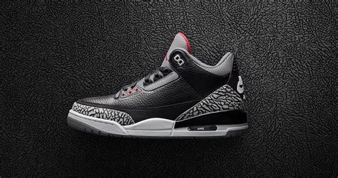 Jordan Brand Remastered The Black Cement 3's Back To The