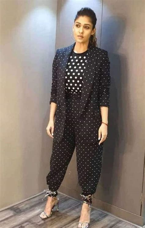 Nayanthara nails the boss lady look in black pant suit