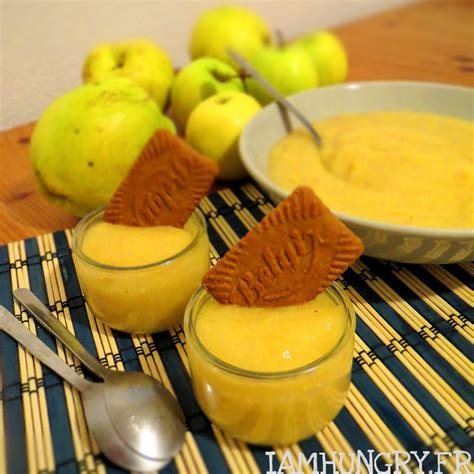 Compote pommes coings- IAMHUNGRY