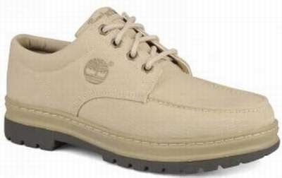 chaussure timberland homme toile