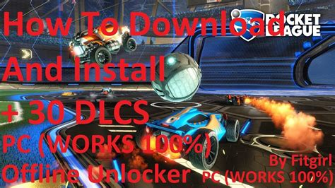 How To Download And Install ROCKET LEAGUE + 30 DLCS