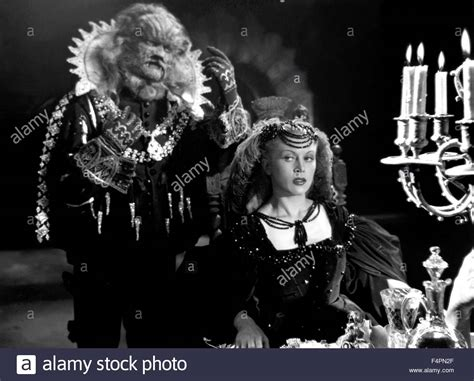 Jean Marais and Josette Day / Beauty and the Beast / 1946