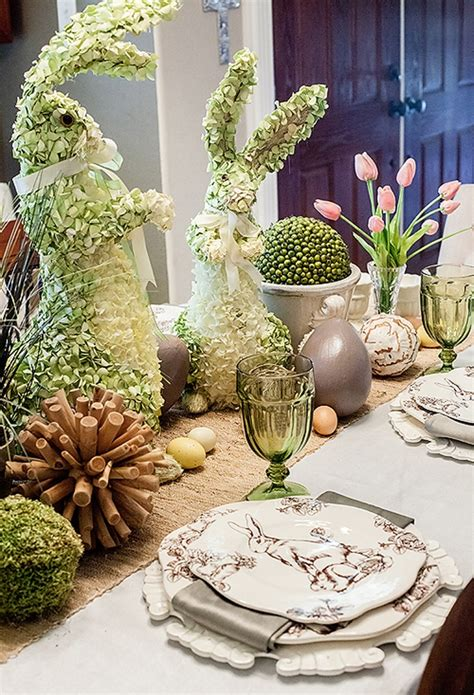 45 AMAZING EASTER TABLE DECORATION IDEAS