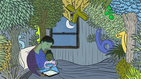 Where The Wild Fractions Are: The Power Of A Bedtime (Math