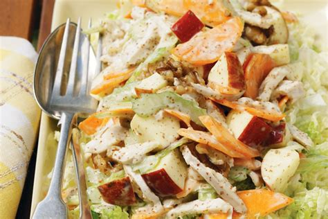 Cold chicken salad with dijonnaise - Recipes - delicious