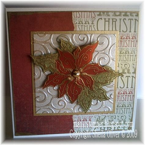 My Favourite Poinsettia Stamp by bookworm - at