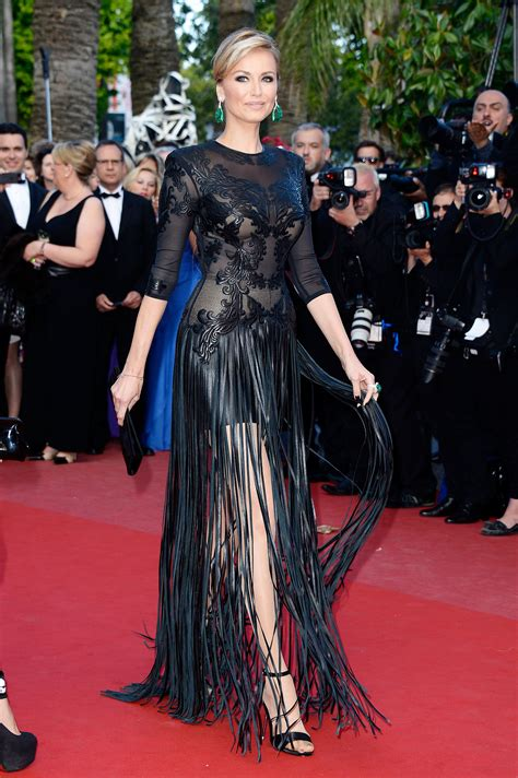 Adriana Karembeu at the Cannes premiere of Cleopatra
