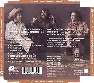 Musicotherapia: Creedence Clearwater Revival - Mardi Gras