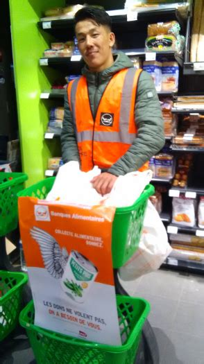 COLLECTE BANQUE ALIMENTAIRE 2018   Varlin Pont-neuf