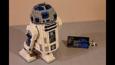 LEGO Star Wars UCS R2-D2 Review 10225 - YouTube