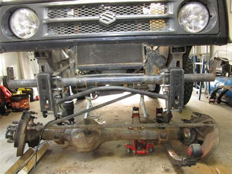 """Shackle reverse & 3"""" Lifted springs - SUZUKI-4WD"""