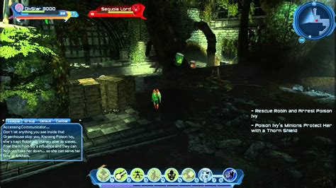 DC Universe Online -Gameplay #11 Vs Poison Ivy ft Robin