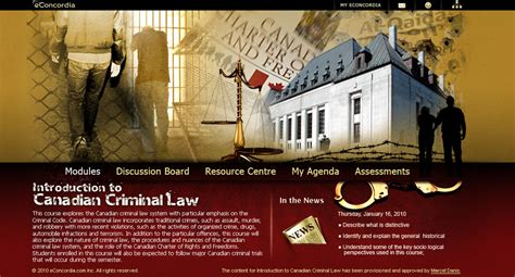 eConcordia - POLI 298 - Introduction to Canadian Criminal Law