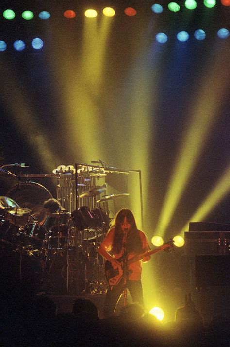 """Rush """"Permanent Waves"""" Tour Pictures - Hammersmith Odeon"""