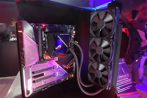 ASUS Enters Liquid PC Cooling with the ROG RYUO 120 and
