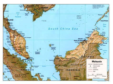 Malaysia Maps - Perry-Castañeda Map Collection - UT