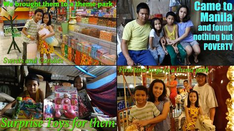 Poverty in the Philippines: Their First Time Going to a