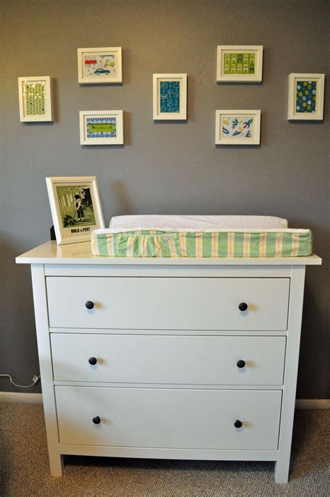 This is an IKEA Hemnes dresser, which we are using as the