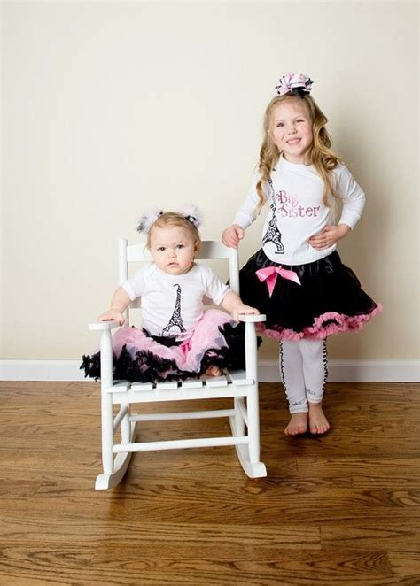 Big Sister/ Little Sister Outfits and they come in Newborn