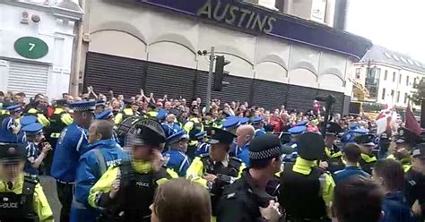 Flute band 'plays pro-UDA song' in front of city centre