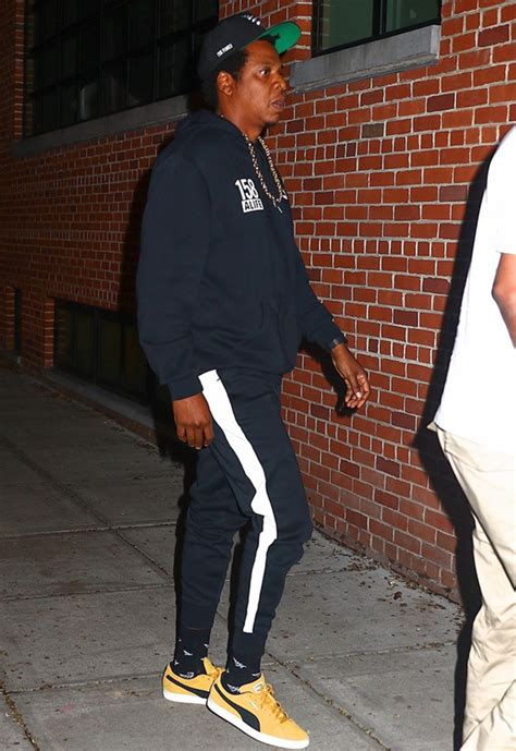 PICS: Jay Z Appears To Be GROWING DREADS