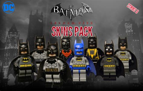 Lego Arkham City Skin Pack | So here's a thing I've been